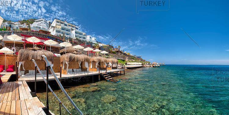 Seafront homes in Bodrum