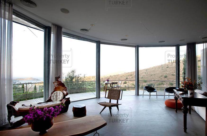 Exploded Turkbuku House living room panorama