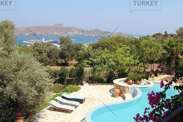 Stunning view over Yalikavak marina