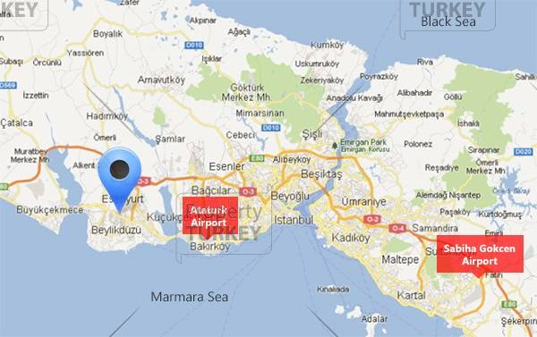 Innovia Istanbul real estate location