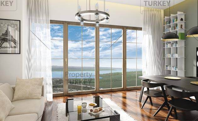 Modern luxury homes Istanbul extended payment plan