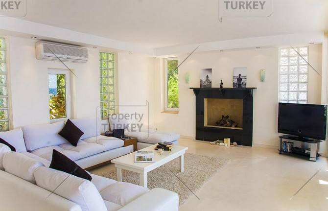 Fully furnished house clean modern style for Kalkan