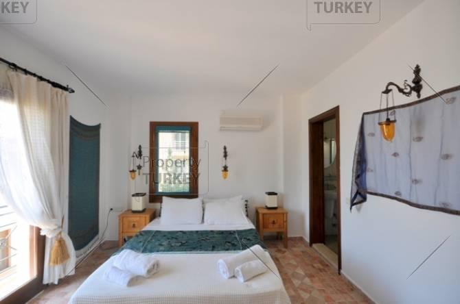 Adequately sized bedroom