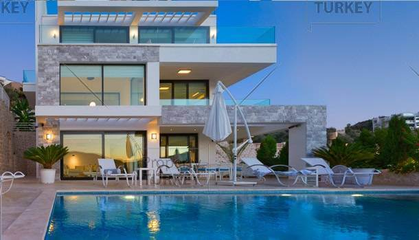 Modern luxury home Kalkan seafront