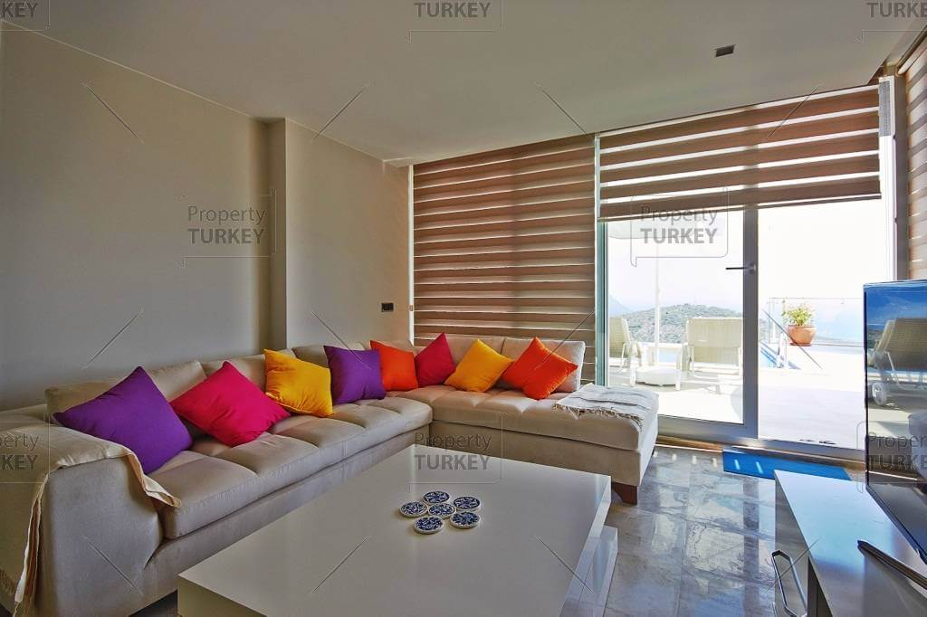 Well appointed Kalkan complex