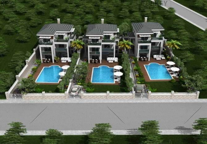 Only 3 villas