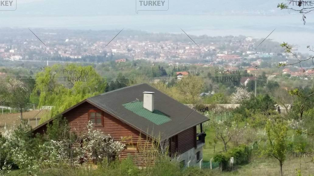 Country house in Sapanca Istanbul with lake view