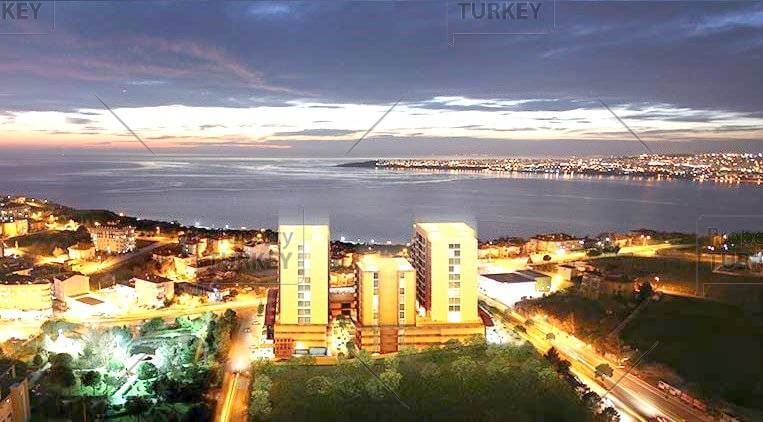 Stunning sea view Istanbul penthouse