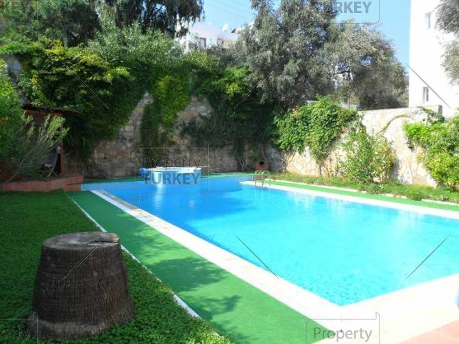 Swimming pool in Torba family home