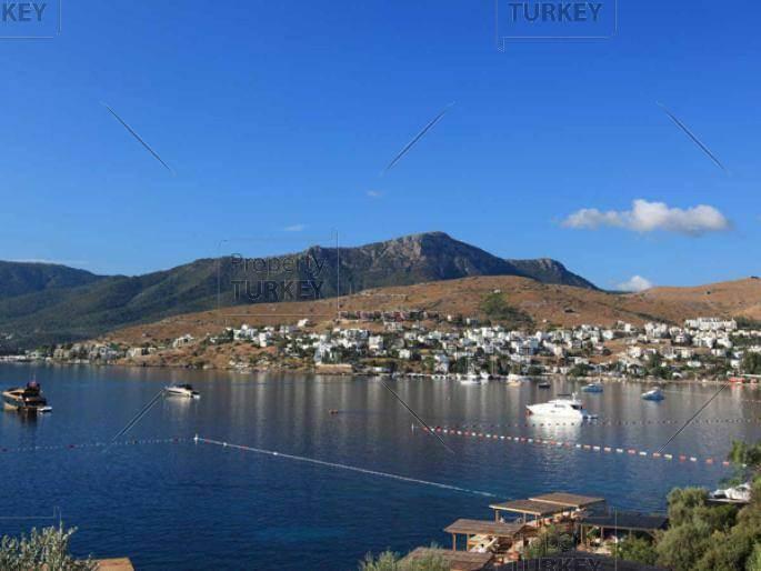 Turkbuku bay sea views