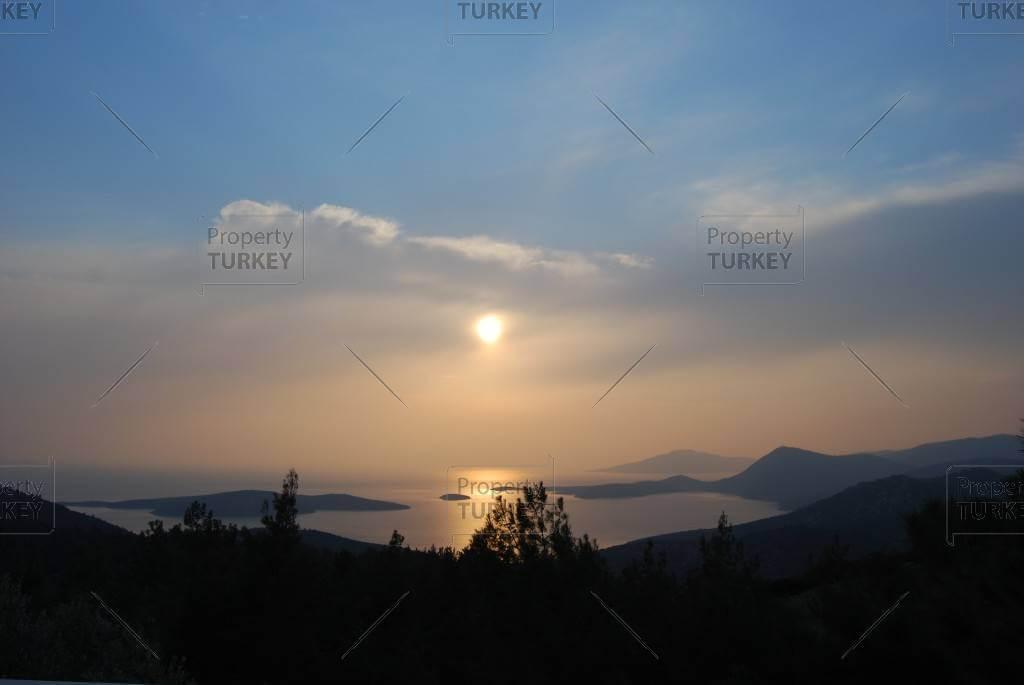 Stunning view over Yalikavak coastline