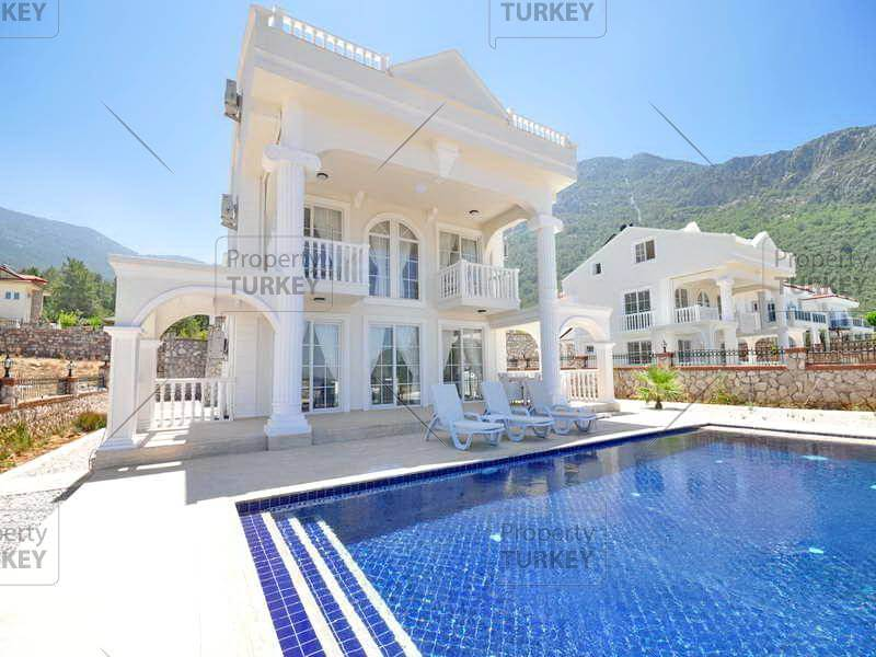 4 bedroom White House villa Fethiye Ovacik for sale