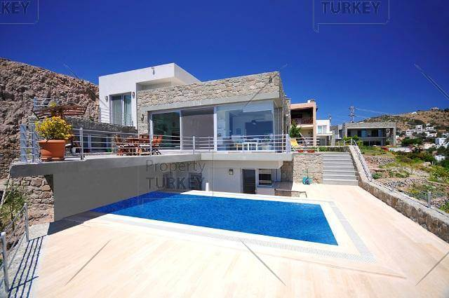 Contemporary Villa for sale in Bodrum