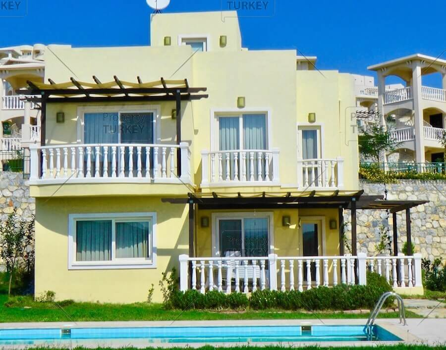 Guvercinlik Bodrum Residence with private pool for sale
