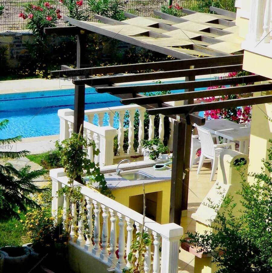 Private pool views