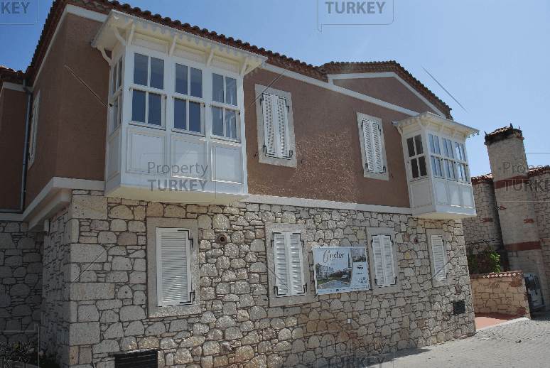 Stone built home in Alacati