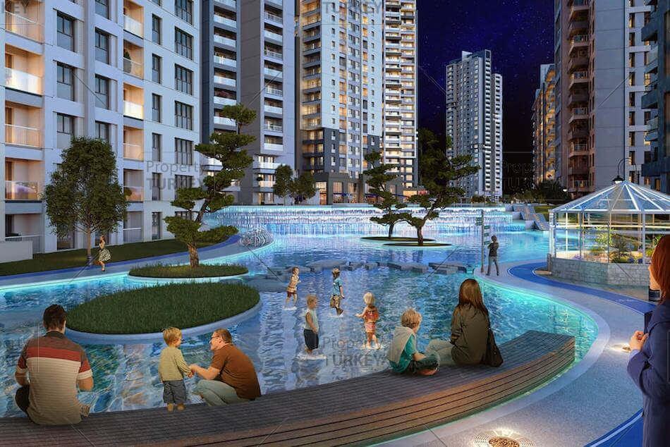 Complex of apartments in Ankara