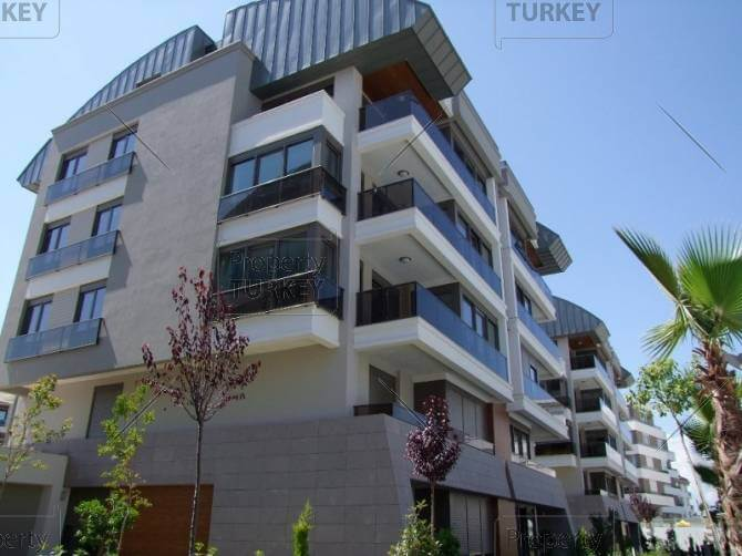 Modern antalya apartments