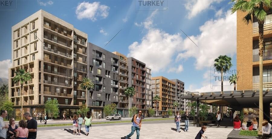 Kepez Antalya modern apartments for sale