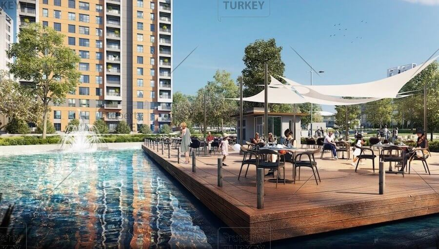 Apartments in luxury complex for sale in Kepez Antalya