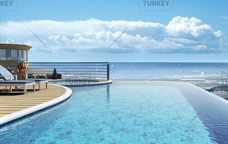 Pool sea view