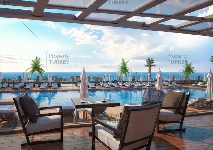 Seaview apartments for sale in Istanbul