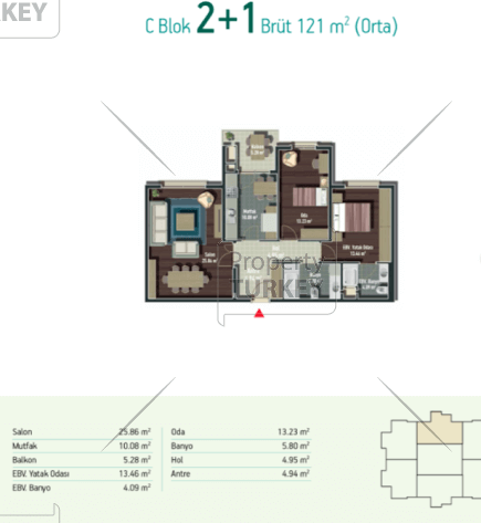 2 bedrooms 1 bathroom plans