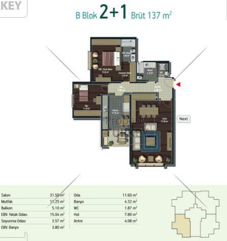 2+1 site plans