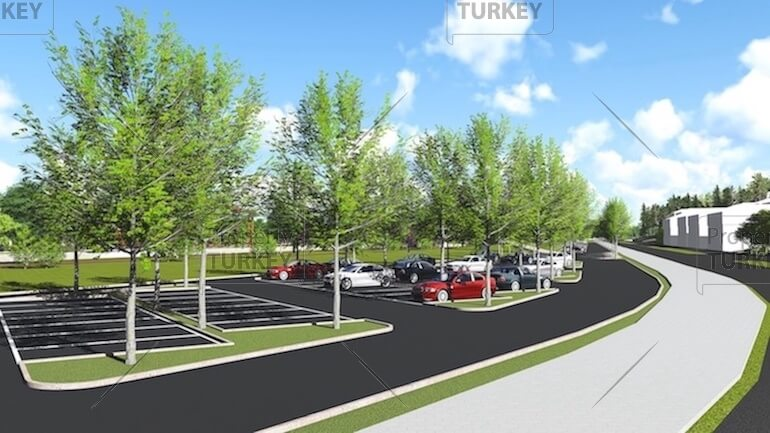 Areas to park