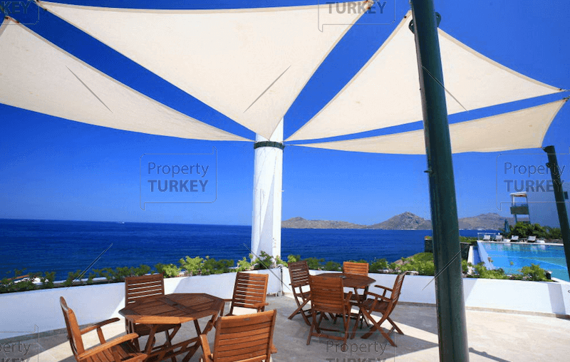Absolute beachfront home in Bodrum Yalikavak