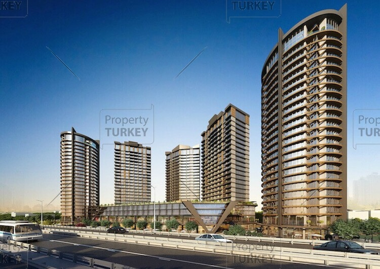 Apartments with bosphorus views for sale