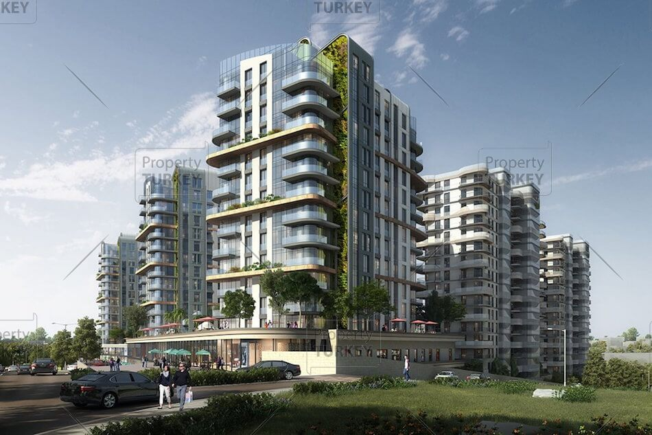 Building of apartments