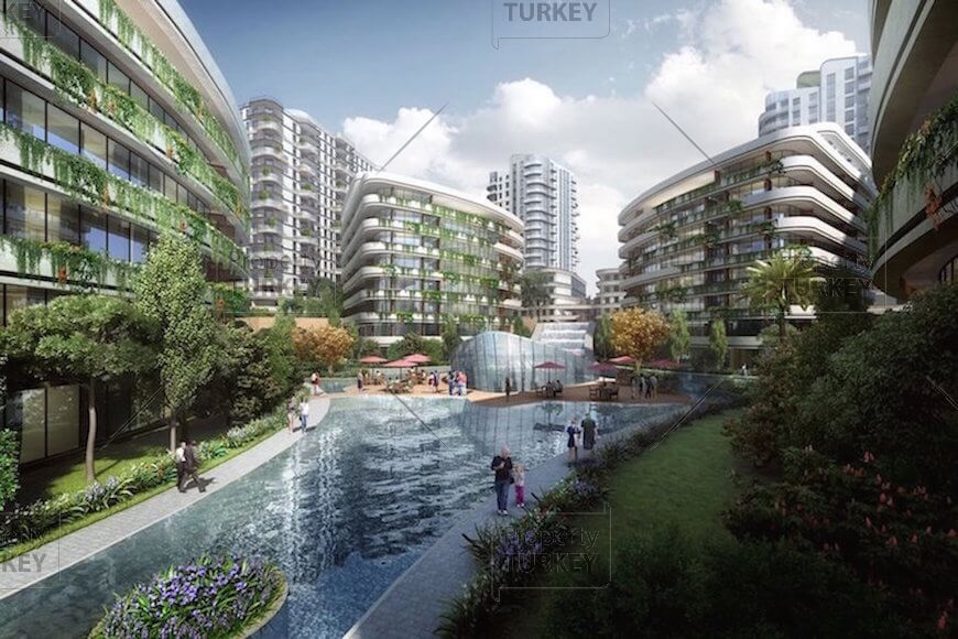 Bahcelievler Istanbul luxury apartments for sale