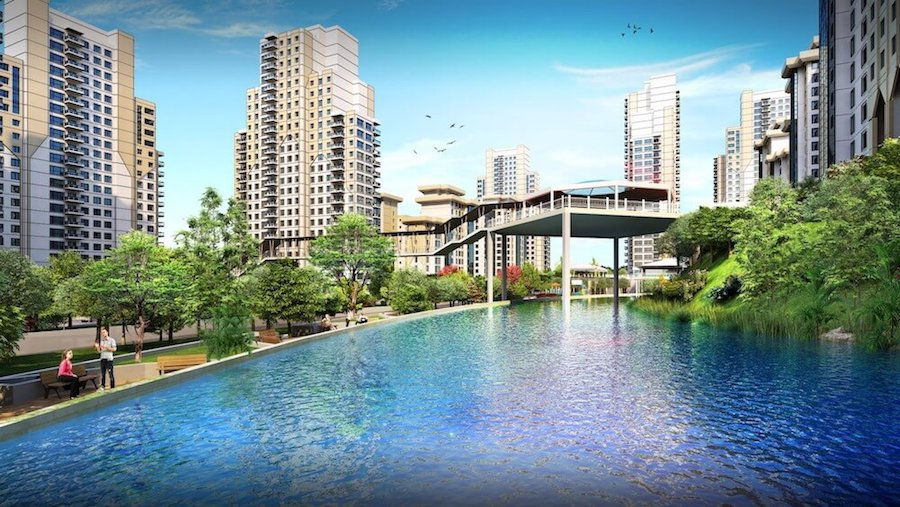 Bahcesehir modern apartments for sale