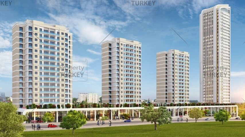 Apartments in Bahcesehir for sale