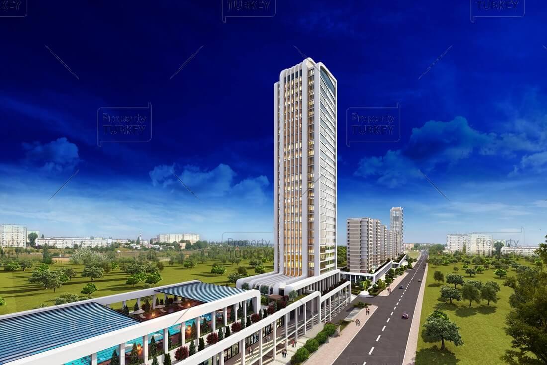 Complex apartments