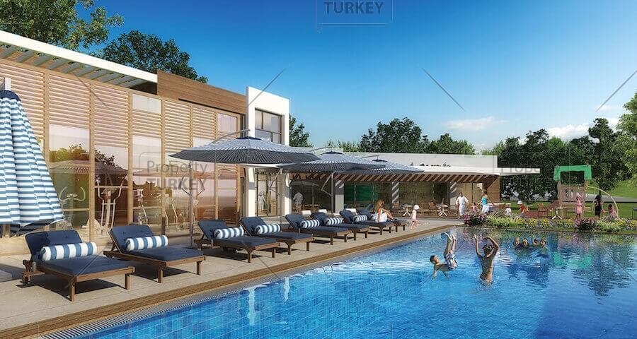 Villas shared pool