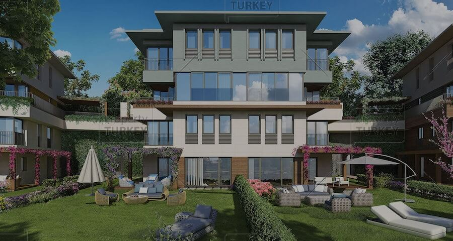 Investment apartment for sale in Bahcesehir