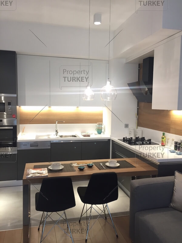 Kitchen and eating space