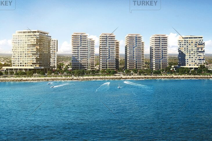 Designer completed sea view residences in Bakirkoy