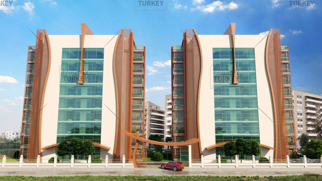 Modern apartments in Alanya