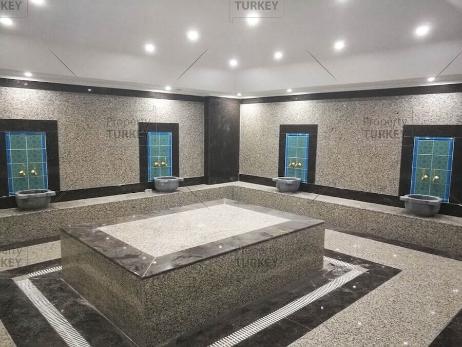 Complex turkish bath