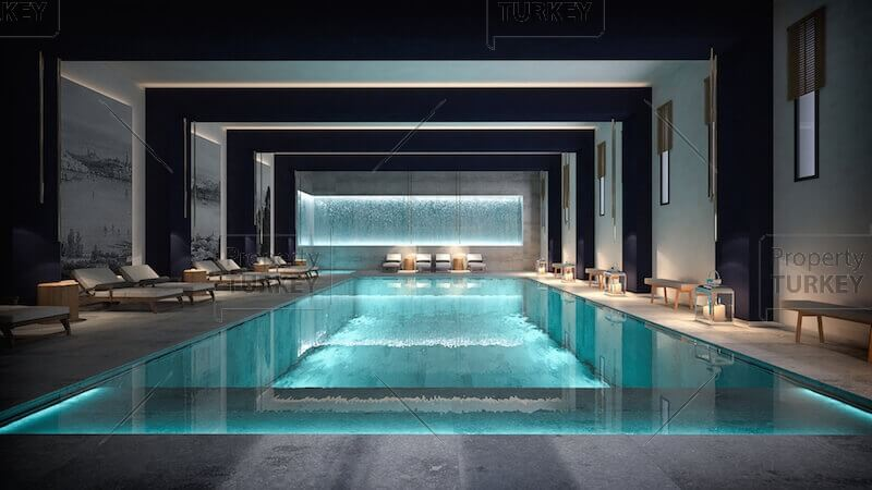 Shared covered pool
