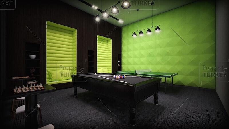 Entertaining area