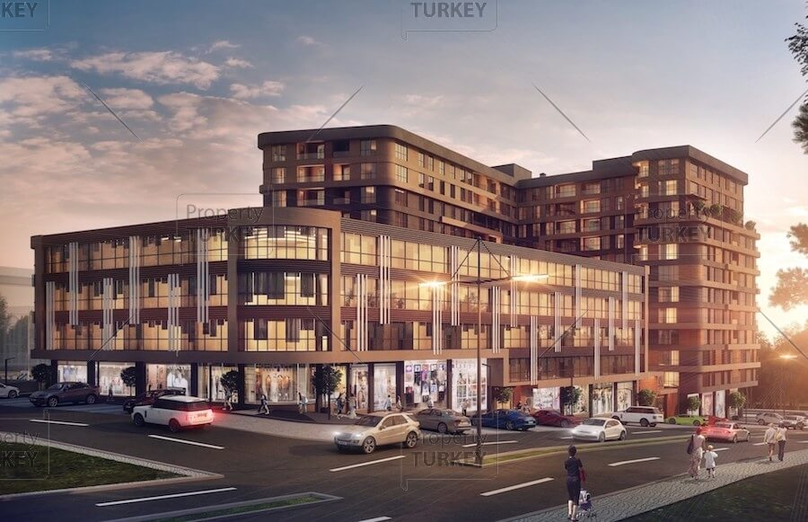 Kucukcekmece family apartments for sale