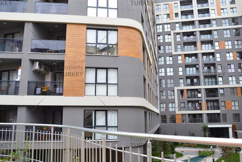 Apartments exterior look