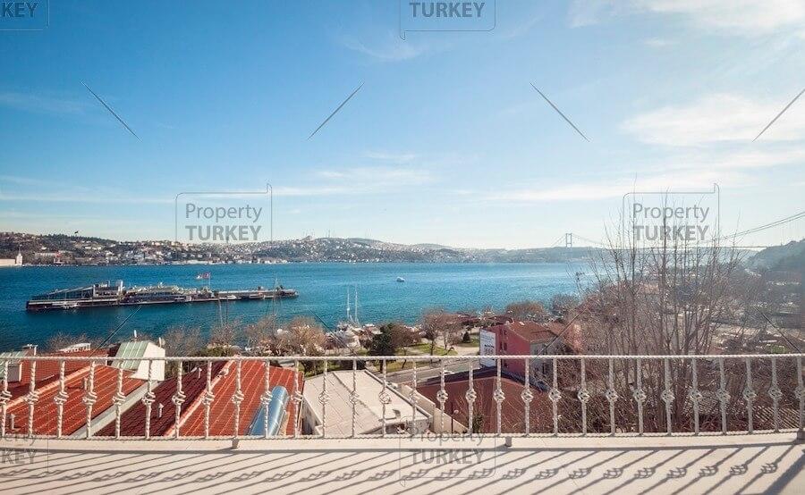 Besiktas Istanbul mansion with Bosporus views for sale