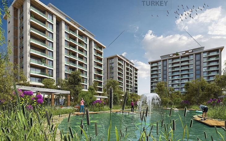 Sea view apartments for sale in Beylikduzu