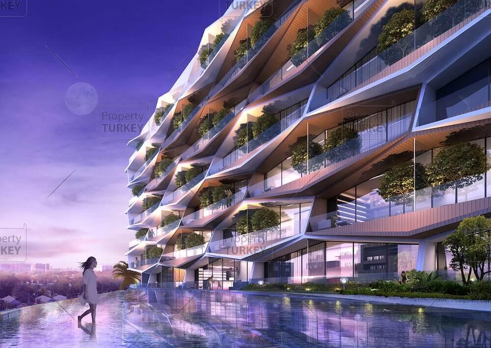 Modern designer residences for sale in Beyoglu