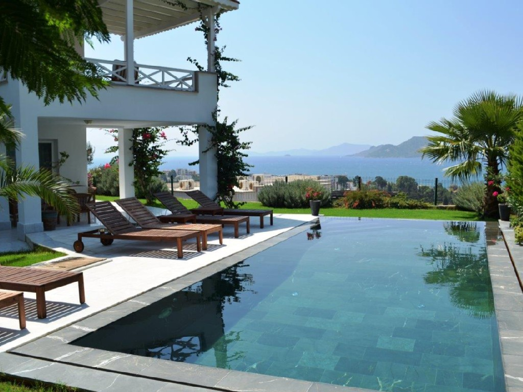 Bodrum Kadikalesi house great sea view